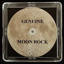 GENUINE MOON METEORITE ROCK - 4mg, With Authentication Certificate - On Sale!