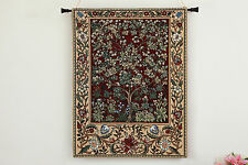 Arte Tapiz Arbol De La Vida William Morris Algodon 100% Peque Ruby 68 x 88 cm