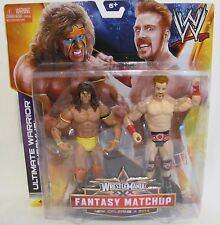 New! Wrestlemania WWE Ultimate Warrior vs Sheamus Fantasy Matchup Figures Toy