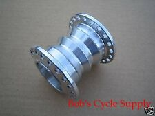 "HD HARLEY BILLET ALUMINUM CUSTOM SPOOL HUB ""RAW"" for: 5/8 or 3/4 Wheel Bearings"