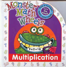 MONSTER MATHS WHEELS * NEW HARDCOVER * MULTIPLICATION *