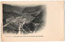 CPA 39 - MOREZ (Jura) - Vue générale, prise de la Roche des Crottes - Dos simple