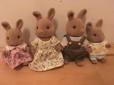 Sylvanian Families Dappledawn Rabbit Family