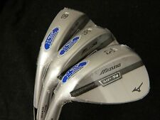 NEW LH MIZUNO MP T4 WHITE WEDGE SET 52.07 AW 56.13 SW & 60.08 LW WEDGES SPINNER