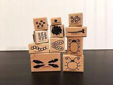 Stampin Up! Bug Builder 2 step system 11 stamp set - lady bug, dragon fly etc