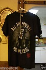 All My Friends Are Walkers The Walking Dead  T-Shirt New necklace  dog tag more