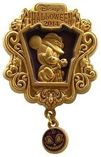 2014 Tokyo Disney Sea Halloween Mickey Mouse Dangle Pin Only S3