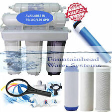 Fountainhead Reverse Osmosis Water Filter Core System 100 GPD. Made in the U.S.A