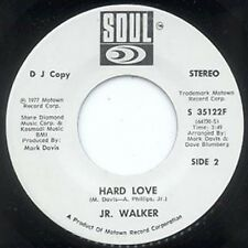 JR. WALKER - HARD LOVE - SOUL 45 -WHITE LABEL PROMO
