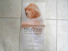 MADONNA~ SOMETHING~ MEGA RARE~ PROMO ONLY RARE FIND ~ PROMO POSTER