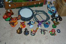 Huge 14pc Skylanders Figure Lot with Xbox 360 Portal
