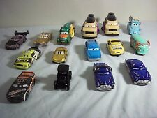 Disney Pixar Cars Die-Cast Lot of 15 Lizzie Hornet Kingpin Head Set HTF Rare