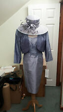 Condici Mother of the Bride 90354 Amethyst Lilac Size 20 100%Silk BRAND NEW £925