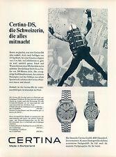 Certina-ds-1970 - publicidad-publicidad-vintage Print ad-vintage aragonesa-老式平面广告
