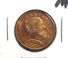 CIRCULATED 1964 5 CENTAVOS MEXICAN COIN!!