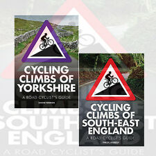 Simon Warren 2 Books Collection Set Cycling Climbs of South-East England, New