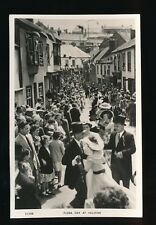 Cornwall HELSTON Flora Day c1950/60s? RP PPC