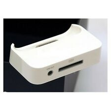 Genuine Apple iPhone 3G 3GS Dock Sync & Charging Cradle MB484G/A - White Unboxed