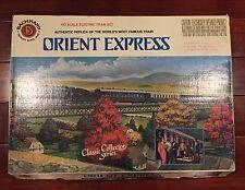 Bachmann HO Orient Express Train Set 40-0185 On Trix liliput Fleishmann Layout