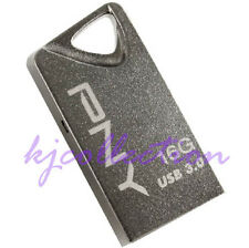 PNY T3 16GB 16G USB 3.0 Flash Pen Drive Memory Attache Steel Metal Nano Mini