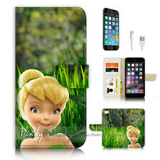 iPhone 7 (4.7') Flip Wallet Case Cover P3373 TinkerBell