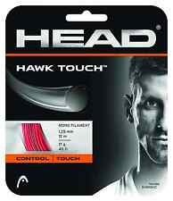 Head Hawk Touch Tennis String Set 17 / 1.25mm - Red