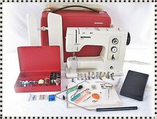 Bernina 830 Record Electronic Sewing Machine with Case + Manual + Accessories
