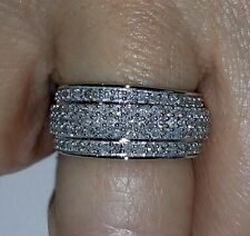 New!!! 1ct Diamond Ring in 9K White Gold Size 7.
