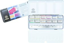 Schmincke Horadam Artists Watercolour 12 Whole Pan Metal Box Set -Promo 74718097