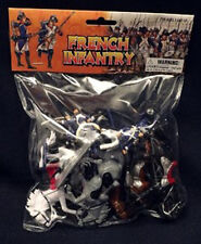 BMC 45 Napoleonic Wars French Infantry Toy Soldier Playset