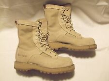 Men's/Boys BATES 03-D-0321 Desert Boots Speed-lace SZ 6R Used GORE-TEX Lined