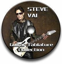 STEVE VAI ROCK GUITAR TABS TABLATURE SONG BOOK SOFTWARE CD BEST OF