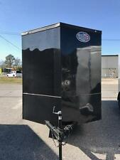 2017 Enclosed Cargo Trailer 6X12 BLACKOUT EDITION BRAND NEW