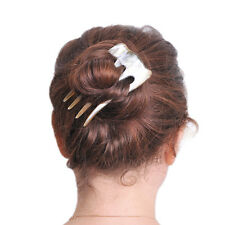 BUFFALO HORN 4 PRONGS HAIR FORK HAIRFORK HAIR PIN HAIRPIN HAIR ACCESSORIES