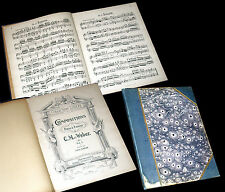 compositions pour le piano à 4 mains partition piano 1920 Weber
