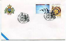 2000-04-27 San Marino 1960-2000 Rotary ANNULLO SPECIALE Cover