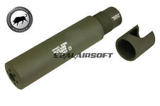 Madbull Gemtech Halo Airsoft Toy Barrel Dummy Extension(2011 Version/Olive Drab)