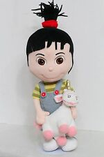 "Despicable Me 15"" AGNES Plush Toy Doll w/ Unicorn (Universal Studios)"