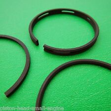 """Piston Rings Ring Set For Suffolk Qualcast 75cc Engine Size 0.010"""" Oversize"""