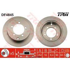 Bremsscheibe, 1 Stück TRW DF4845