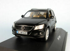 SCHUCO Volkswagen Tiguan 2.0 TDI T&F (Black) 1/43 Scale Diecast Model NEW, RARE!