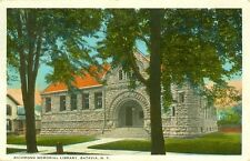 Batavia,NY. The Richmond Memorial Library 1923