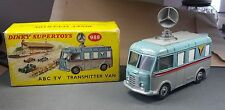 DINKY TOYS №988 ABC TV TRANSMITTER VAN WITH ORIGINAL BOX AND ROOF AERIAL DISH