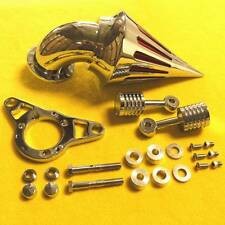 Harley Davidson Softail Dyna Touring Rocker Spike Intake Air Cleaner Filter Kit