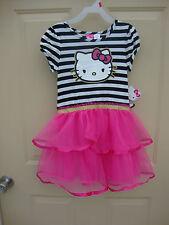 Hello Kitty Tutu Dress -Size S 6/6X NWT
