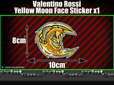 Valentino Rossi Yellow Moon Sticker X1 Moto GP The Doctor Fumi 46 vale racing