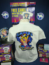 Vintage 96 CAMEL Big Vegas, Groove Blender, SS TSHIRT. NEW in BOX. SZ XL. U.S.A.