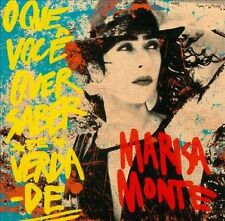 Marisa Monte - O Que Voce Quer Saber De Verda (2012) - Used - Compact Disc