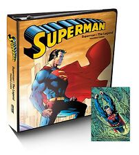 Cryptozoic DC Superman the Legend Factory Sealed Trading Card Binder Album Promo