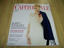 Capitol File magazine, Spring 2014 Issue #1 Robin Wright cover